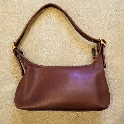 COACH leather sholder bag /Made In USA [B-258]