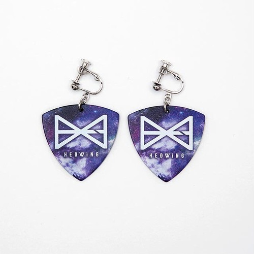 Galaxy pick earring