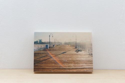 Wood Panel California #6 _ A5