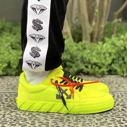 OFF-WHITE LOW VULCANIZED FLUO YELLOW