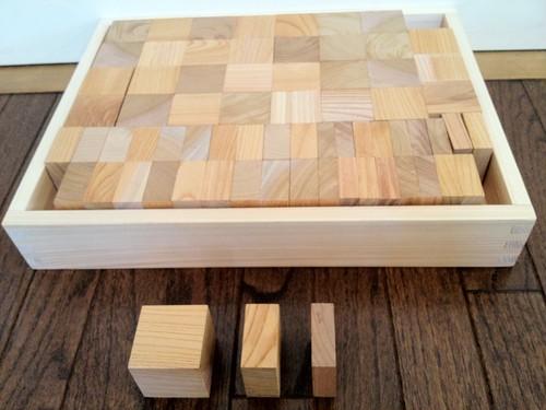 A 立方体(基本の積み木)コロなし