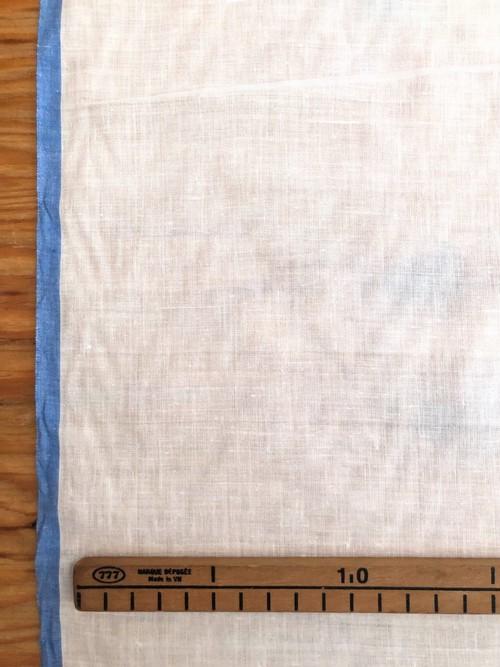 【NEW】Khadi cotton  白+青耳