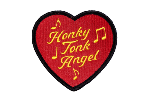 HONKY TONK ANGEL Embroidered Patch