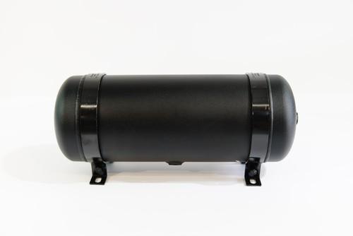 エアタンク  アルミ  3ガロン 6ポート ブラック
