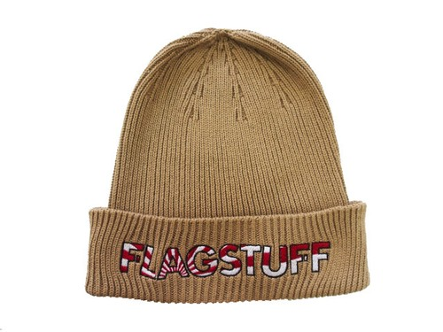 "COTTON KNIT CAP ""SUNRISE LOGO""  KHAKI  16AW-FS-62"