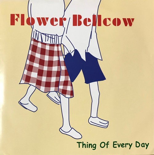 "gal-005 Flower Bellcow ""Thing of Everyday "" 7インチレコード"