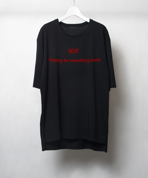 "GRAPHIC T-SHIRT ""N D F"""