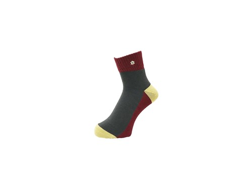 WHIMSY - 30/1 VERSE SOCKS (Burgundy)