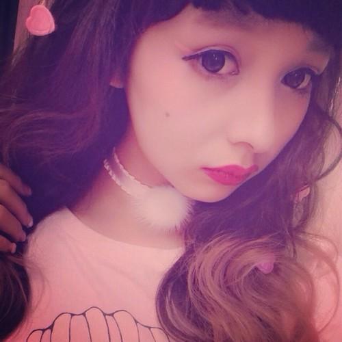 ponpon choker【pink】