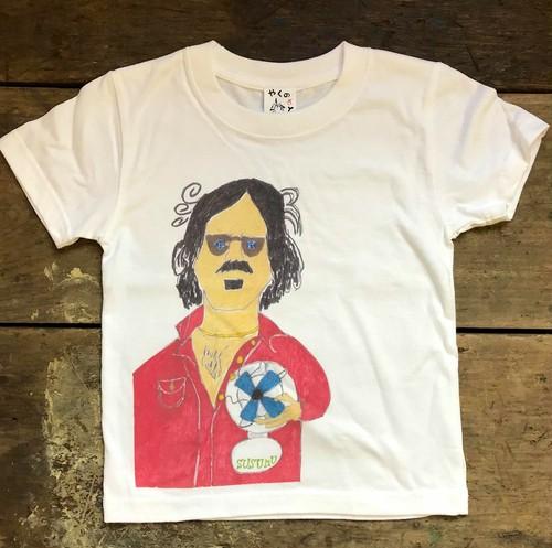 やくのさとTシャツ こども用『フランク・ザッパ』