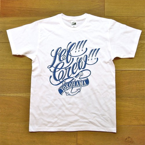 "LEF!!! CREW!!! ""Anchor"" Tee -WHITE-"