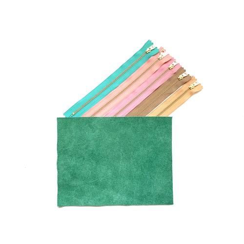 mini clutch (mint green)