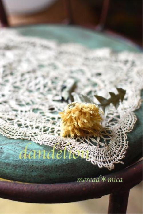 5:corsage**dandelion