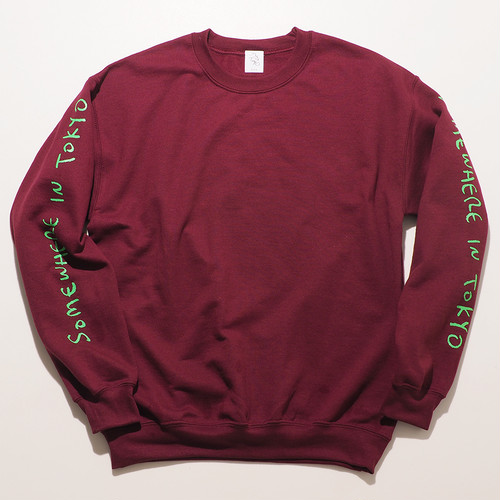 Sweat Shirt / Designed by Joji Nakamura / Burgundy