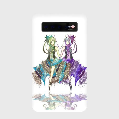 #001-044 モバイルバッテリー《花言葉》パターン4 iphone スマホ 充電器  作:柑澤智蔭