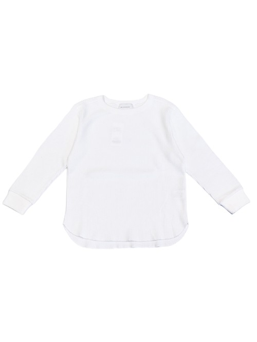 【ENLIGHTENMENT】WAFFLE CREW LONG SLEEVE