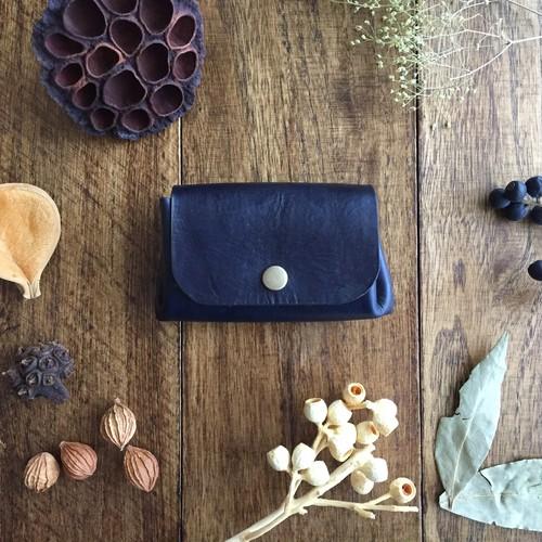 インディゴブラックの小さい財布
