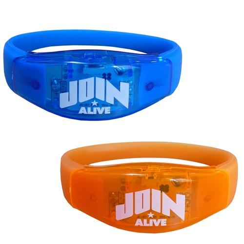 JOIN ALIVE 2017 LEDシリコンバンド