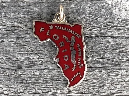 Wells Sterling Charm-Florida
