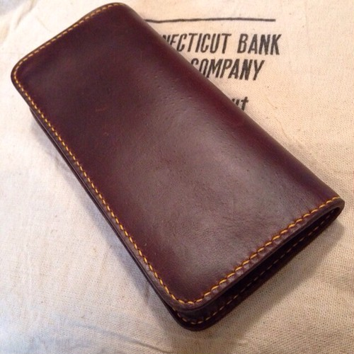 受注生産 long wallet type1