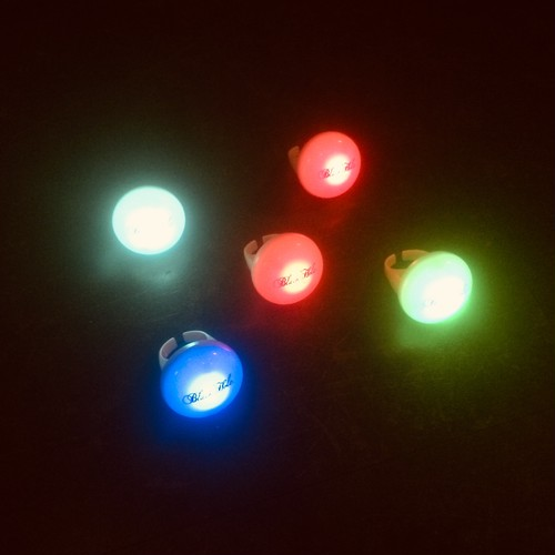 オリジナル☆光るリング