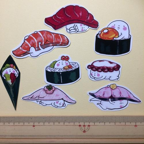 お寿司りシール⑤