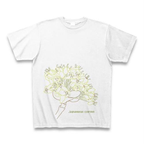 サンシュユ フラワーイラストTシャツ