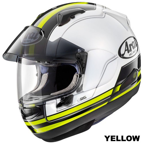ARAI ASTRAL-X STINT YELLOW