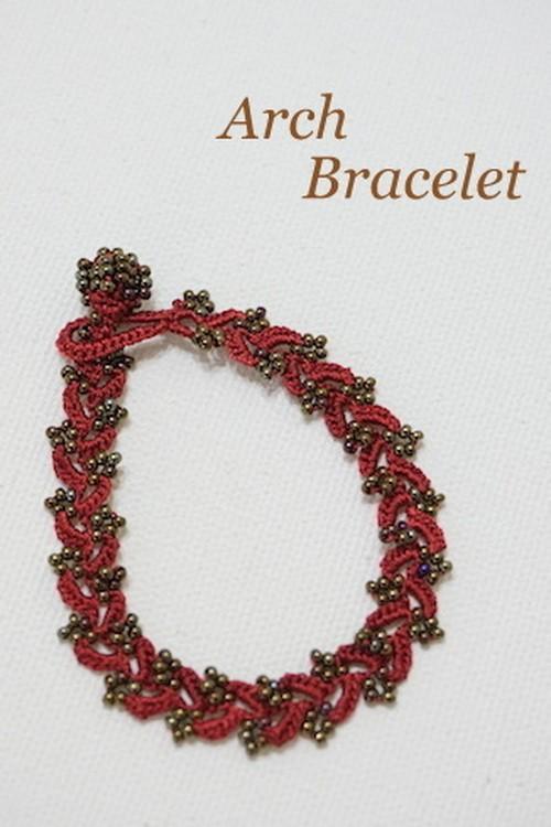 ボンジュクオヤのブレスレット アーチB(カラーは商品内ページよりお選びください。)