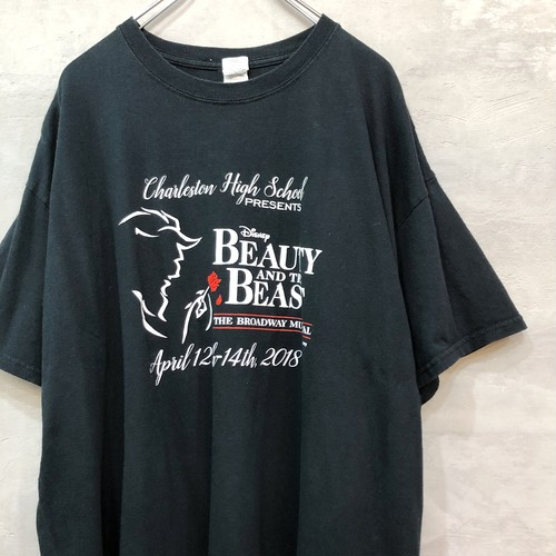 BEAUTY AND THE BEAST T-shirt  #2172