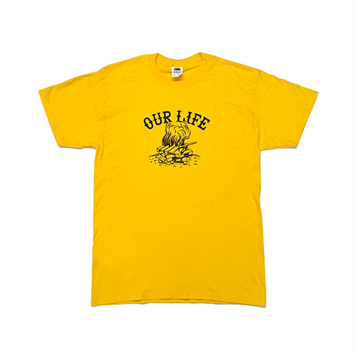 OURLIFE - PALLET LIFE TEE (Gold)