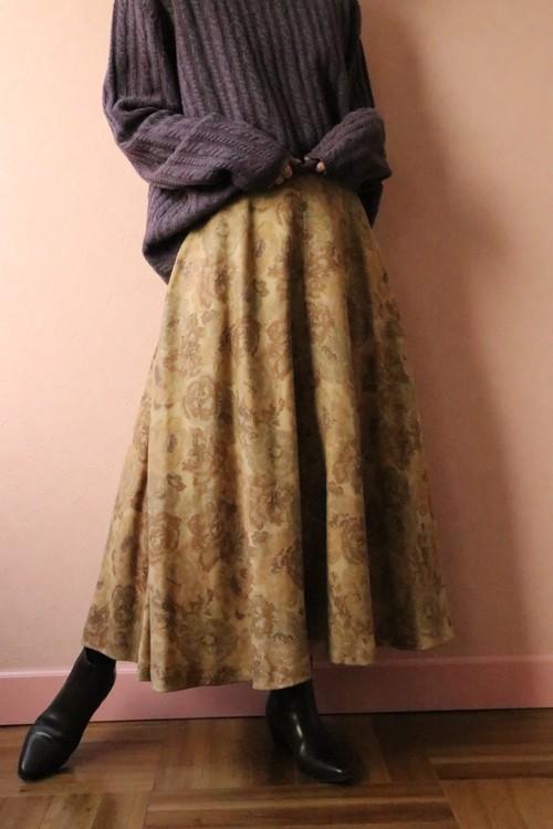 Emanuel Ungaro flower skirt
