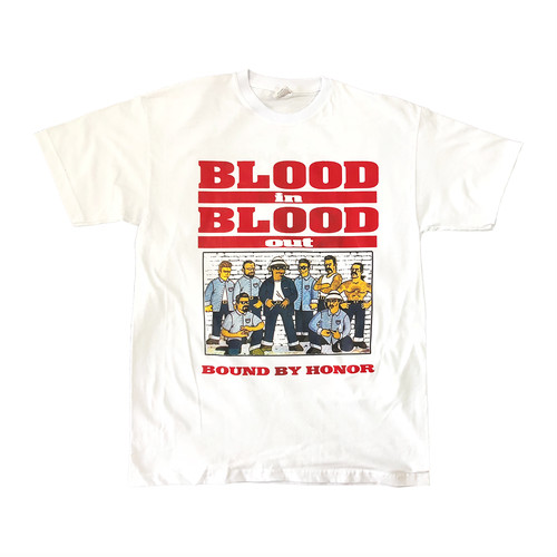 BLOOD in BLOOD out Simpsons Tee