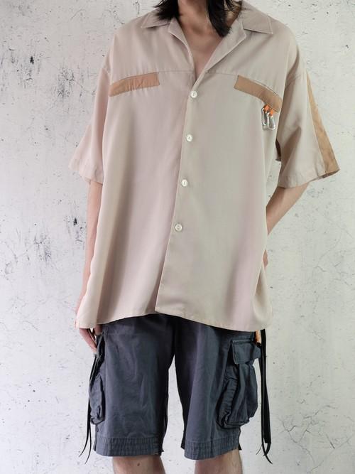 over slit remake shirt