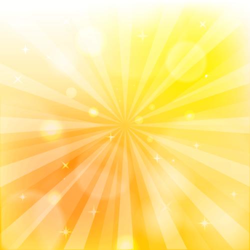 背景 イラスト 放射 黄