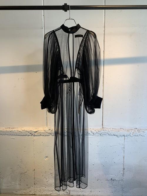 SHIROMA   tull dress