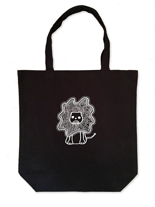 Hand Drawing Tote Bag / Lion
