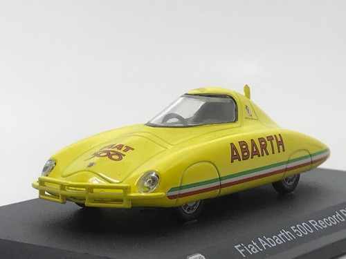 Fiat Abarth 500 Record Pinin Farina 1958 【1/43】