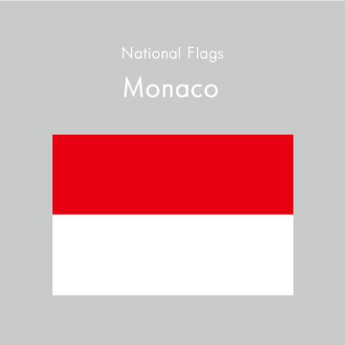 国旗ステッカー モナコ