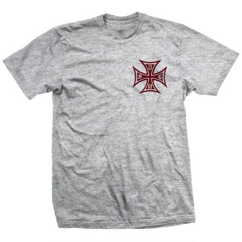 Show Class IronCross/Old English logo Grey Tee