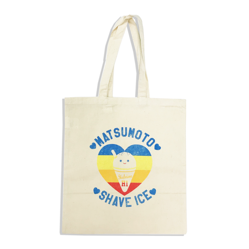 [Matsumoto Shave  Ice]Rainbow Heart Tote Bag