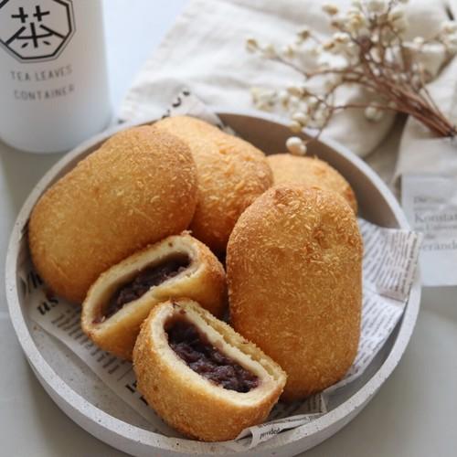 美味!ぜんざいパン【お家で揚げたて】