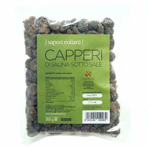 【塩漬けケッパー(大粒)】CAPPERI DI SALINA SOTTO SALE