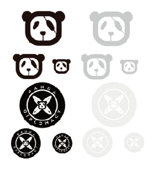 【パンダディプロマシー】【PANDADIPLOMACY】PANDA ALL  ステッカーセット【パンダディプロマシー】