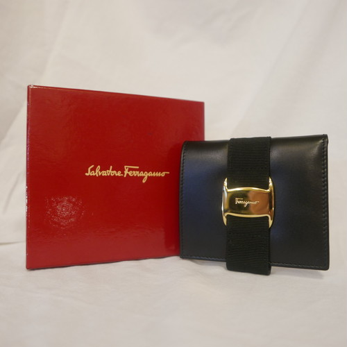 FERRAGAMO Folded Wallet -Dead Stock!-