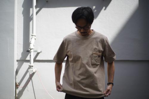 Jackman × Lavenham / Dotsume Pocket T-Shirt