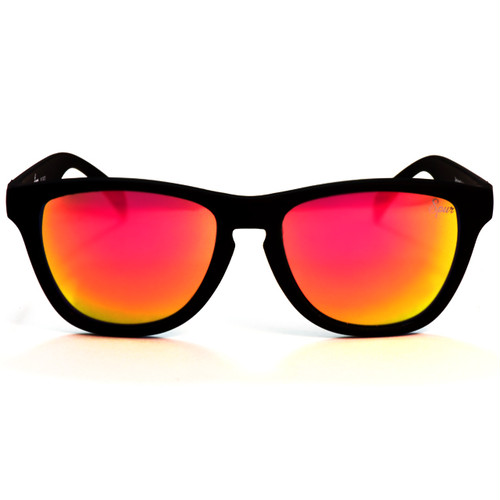 ESCAPE      MattBlack × Multicolor mirror lens