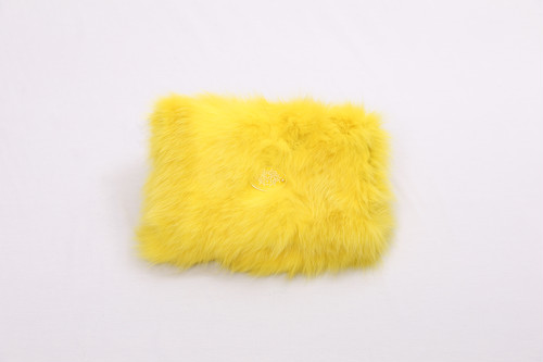 FUR BIG CLUTCH BAG