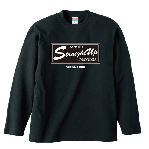STRAIGHT UP RECORDS OFFICIAL LONG SLEEVE : 2(黒ボディー)