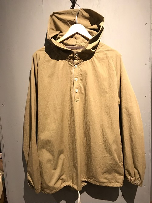 Cotton Nylon Pull Over Parka(Re made in tokyo japan)